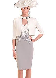 Dressvip Elégante Femme Robe Mère de Cérémonie de Soirée de Cocktail pour  Mariage Manches 3  894444bc36f4