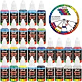 US Art Supply 24 Color Acrylic Airbrush Paint - Best Reviews Guide