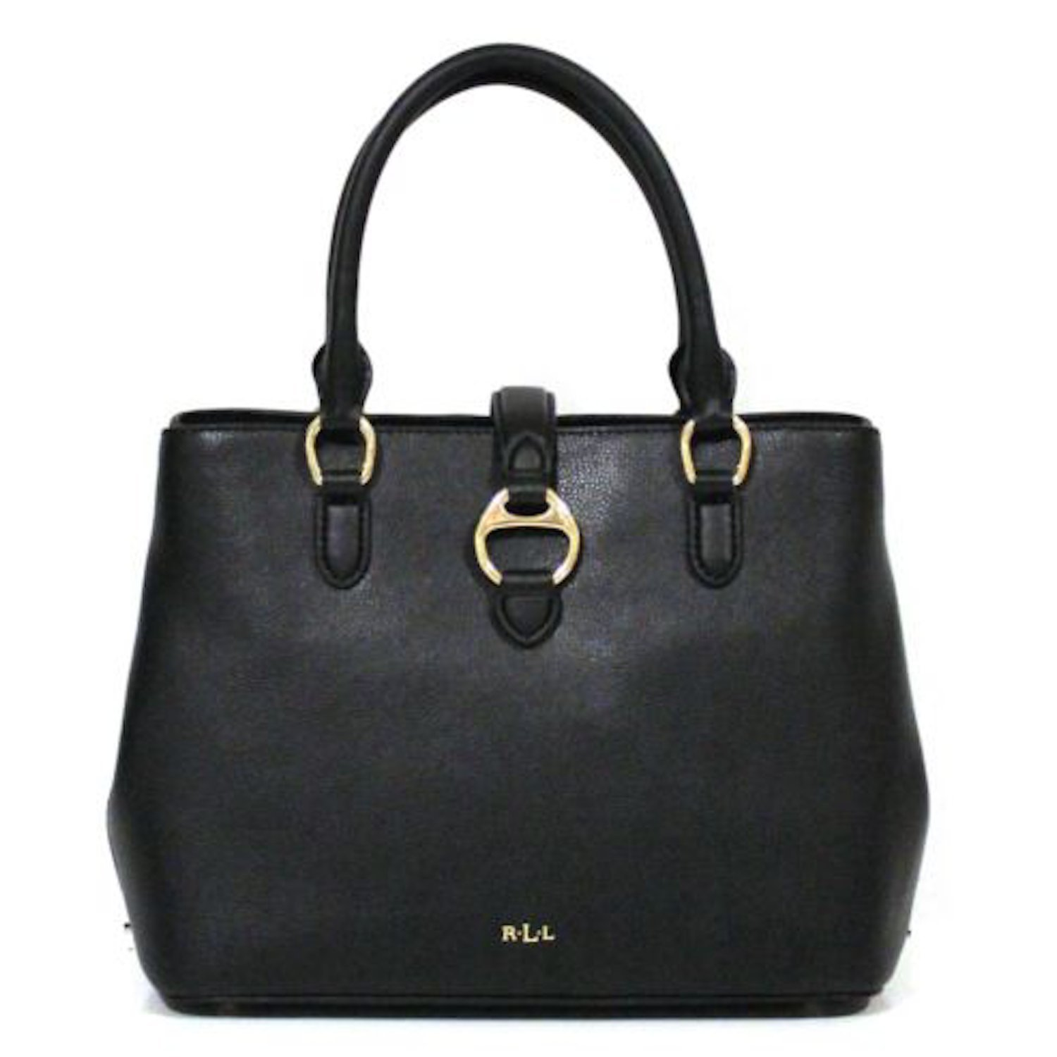a2f521579e48 Amazon.com  Lauren Ralph Lauren Allenville Satchel Black  Shoes