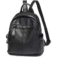 Ladies Fashion Backpack, DRENECO Soft Leather Backpack School Backpack Travel Bag Women Backpack Satchel Handbag Shoulder Bag