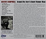 G' Ole Opry's Good Humor Man