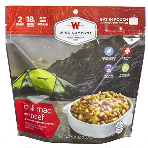Price comparison product image Wise Foods Entree Dish Chili Mac with Beef (2 Servings)