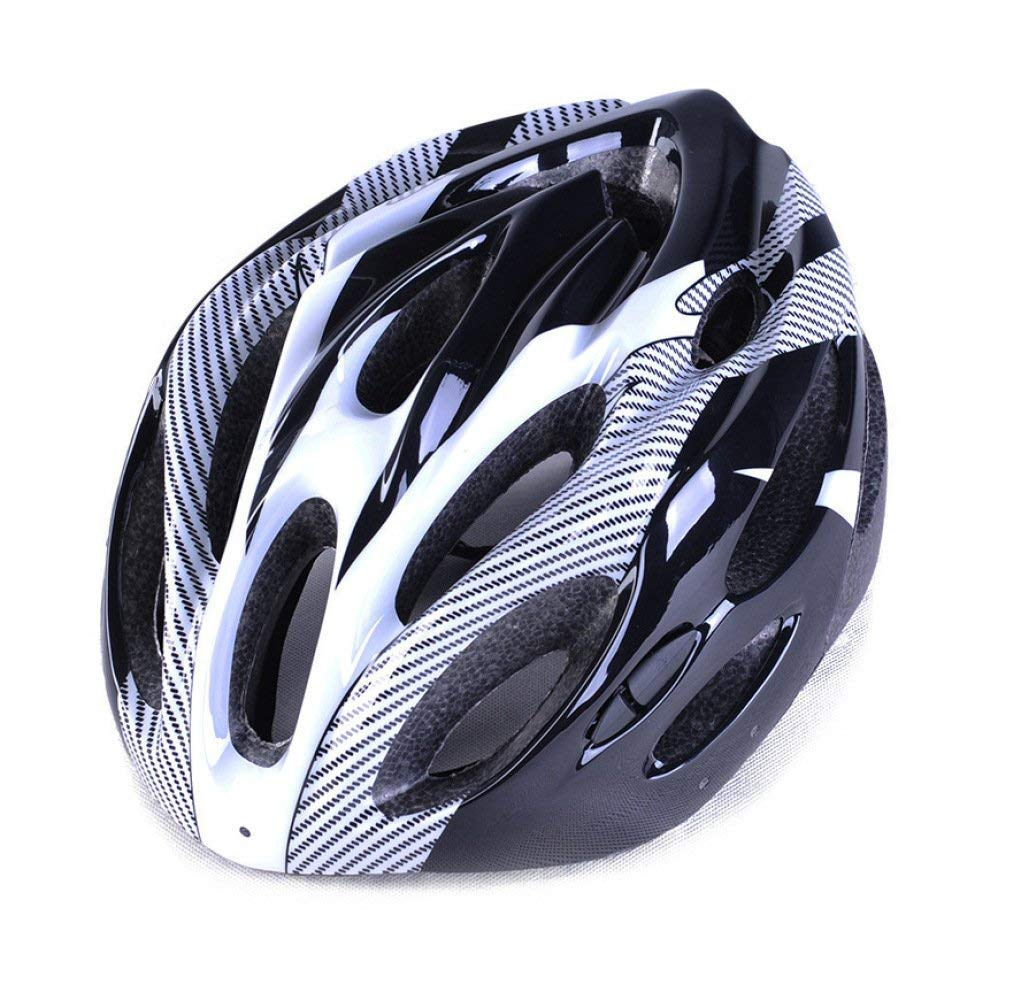 C Oli Casque Helmet Outdoor Bicycle Helmet Eps Lightweight Comfortable Fashionable Ventilated Safety Four Seasons Helmet Neutral Suitable for Head Circumference(5562Cm)