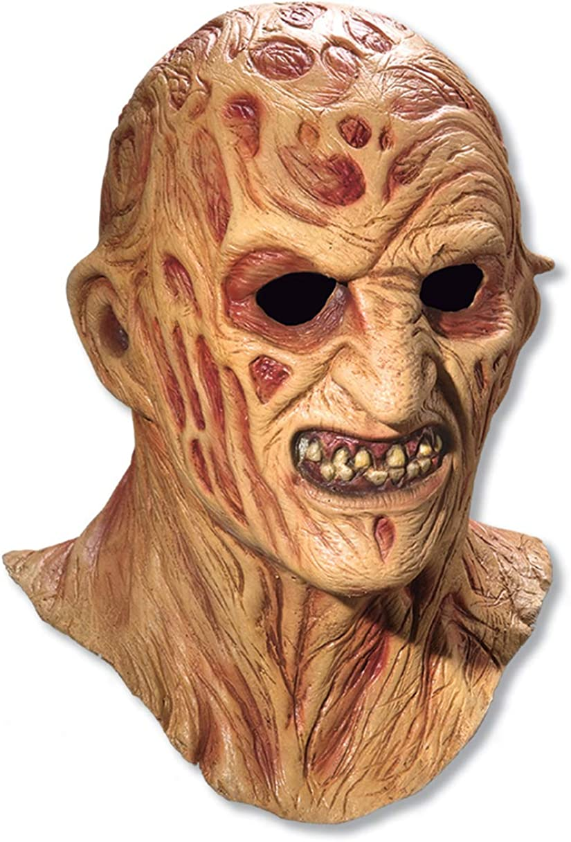 A Nightmare On Elm Street Freddy Krueger Costume Deluxe Overhead Mask