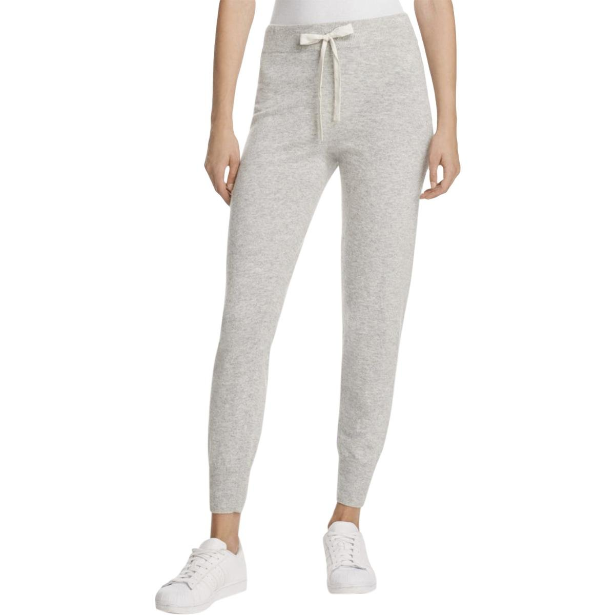 Elizabeth and James Women's Sandra Knit Pants, Heather Grey, Small