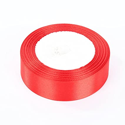 muhan diy 25yards 25mm wide ribbons bling for bows and wreaths decorated satin edge sheer