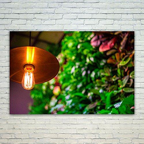 Leaves 5 Light Chandelier - Westlake Art Poster Print Wall Art - Leaf Lighting - Modern Picture Photography Home Decor Office Birthday Gift - Unframed - 5x7in