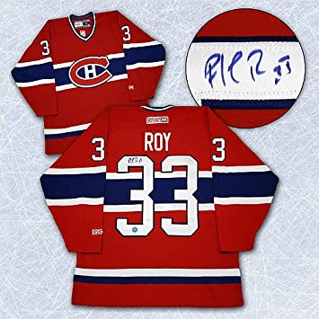 Patrick Roy Montreal Canadiens Autographed Hockey Jersey - Signed Hockey  Jerseys b59cdb8d7