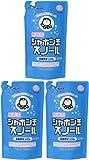 【まとめ買い】シャボン玉 衣料用液体洗剤 スノール つめかえ用 800ml×3個