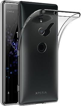 AICEK Funda Sony Xperia XZ2, Transparente Silicona Fundas para ...