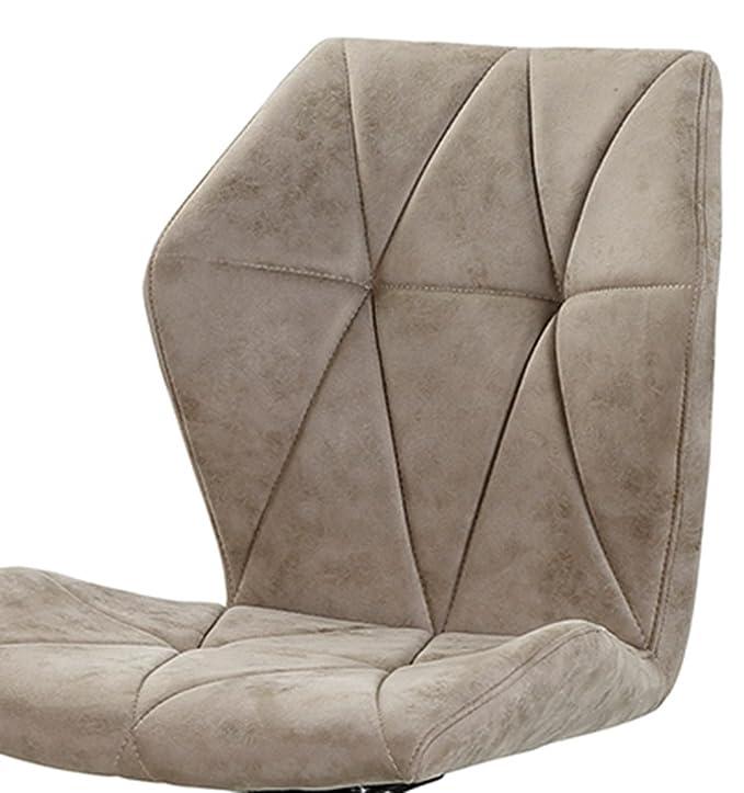 lifestyle4living Esszimmerstühle in grau-braunem Vintage-Stoff ...
