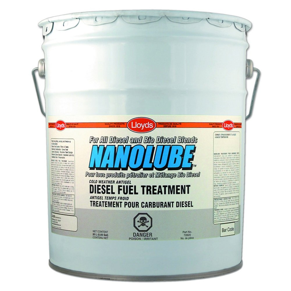 Nanolube Cold Weather Antigel - Extreme Cold Weather Diesel Fuel Treatment, 72620, 20 L pail (5.25 gal) by Nanolube
