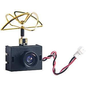 Amazon com: Wolfwhoop WT03 Micro FPV AIO 600TVL Camera 5 8G