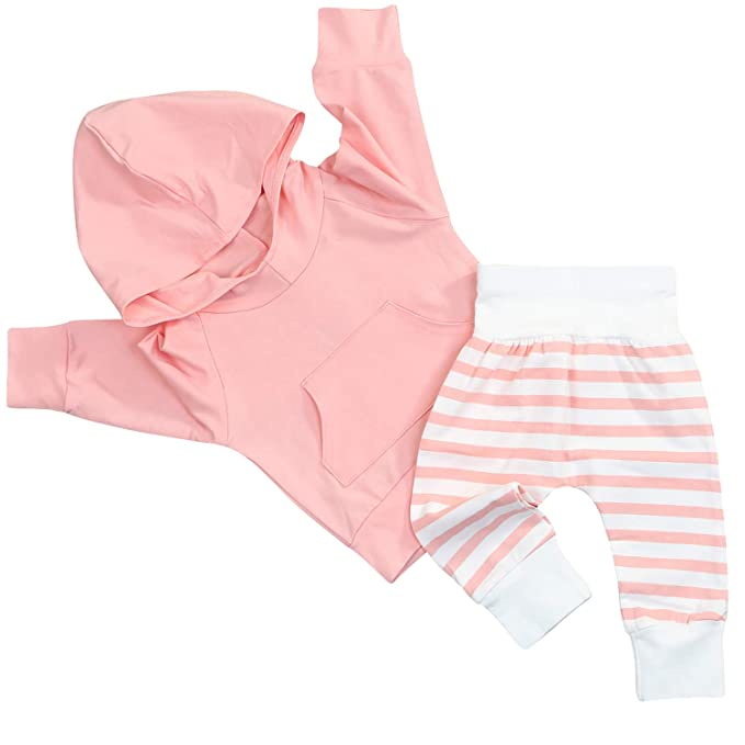 Amazon.com  Toddler Baby Boy Girl Cotton Outfits 23d38def8a06
