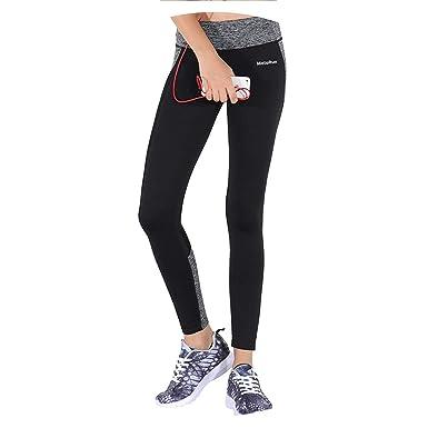 203b6044e3 Brave Rosemary Fitness Energy Seamless Leggings Elastic Waist Yoga Pant Gym  Wear with Pocket Breathable Running