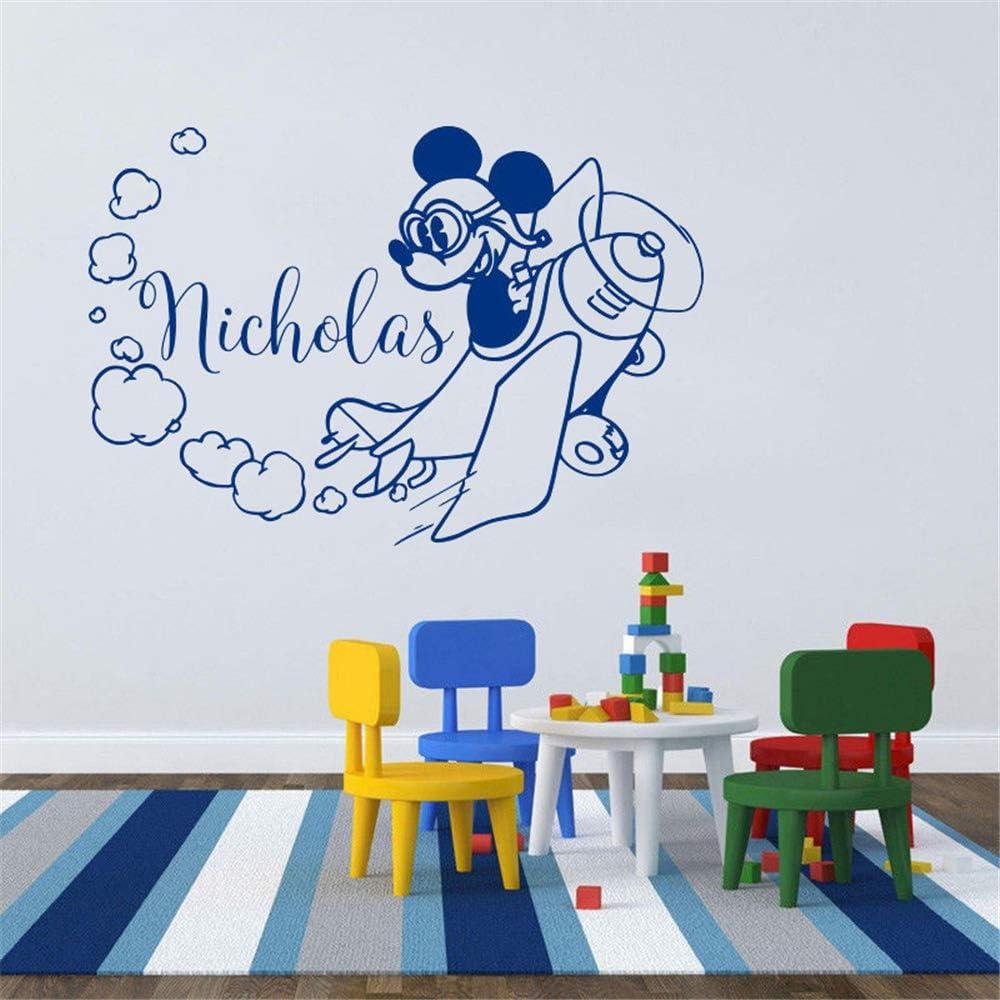 Mickey Minnie Mouse Wall Art Decal Sticker Tatuajes de Pared ...