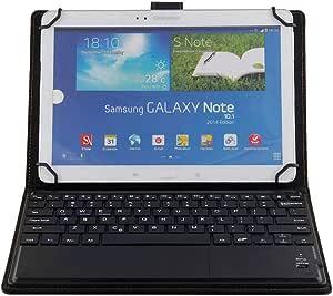 J&H Funda universal de piel para teclado de tablet Huawei ...