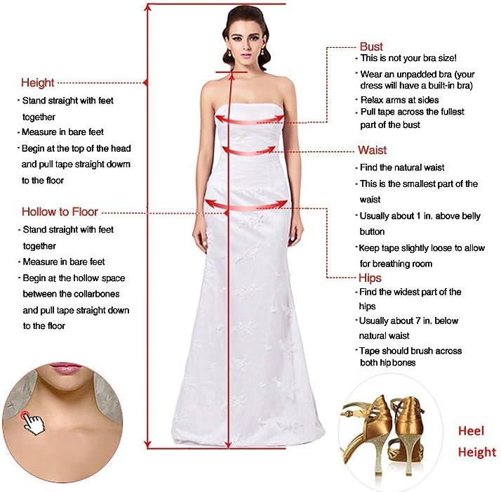 ae12bc8120dd Amazon.com: Sunvary Laceshe Affordable V-Neck Sleeves Tea-Length ...