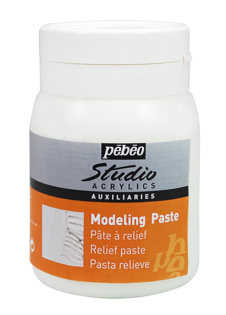 PEBEO Studio Acrylics Auxiliaries, Modeling Paste, 1 L by PEBEO