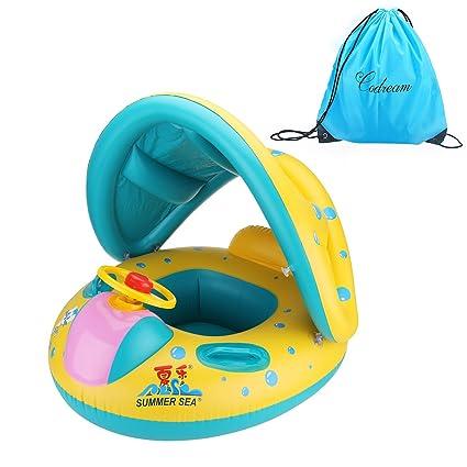 Amazon.com: Flotador de piscina para madre y niño de ...