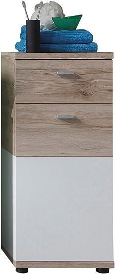 Trendteam Smart Living Badezimmer Kommode Schrank Campus 36 X 81