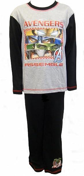 Amazon.com: Marvel Avengers Assemble Big Boys Pyjamas 7-8 ...