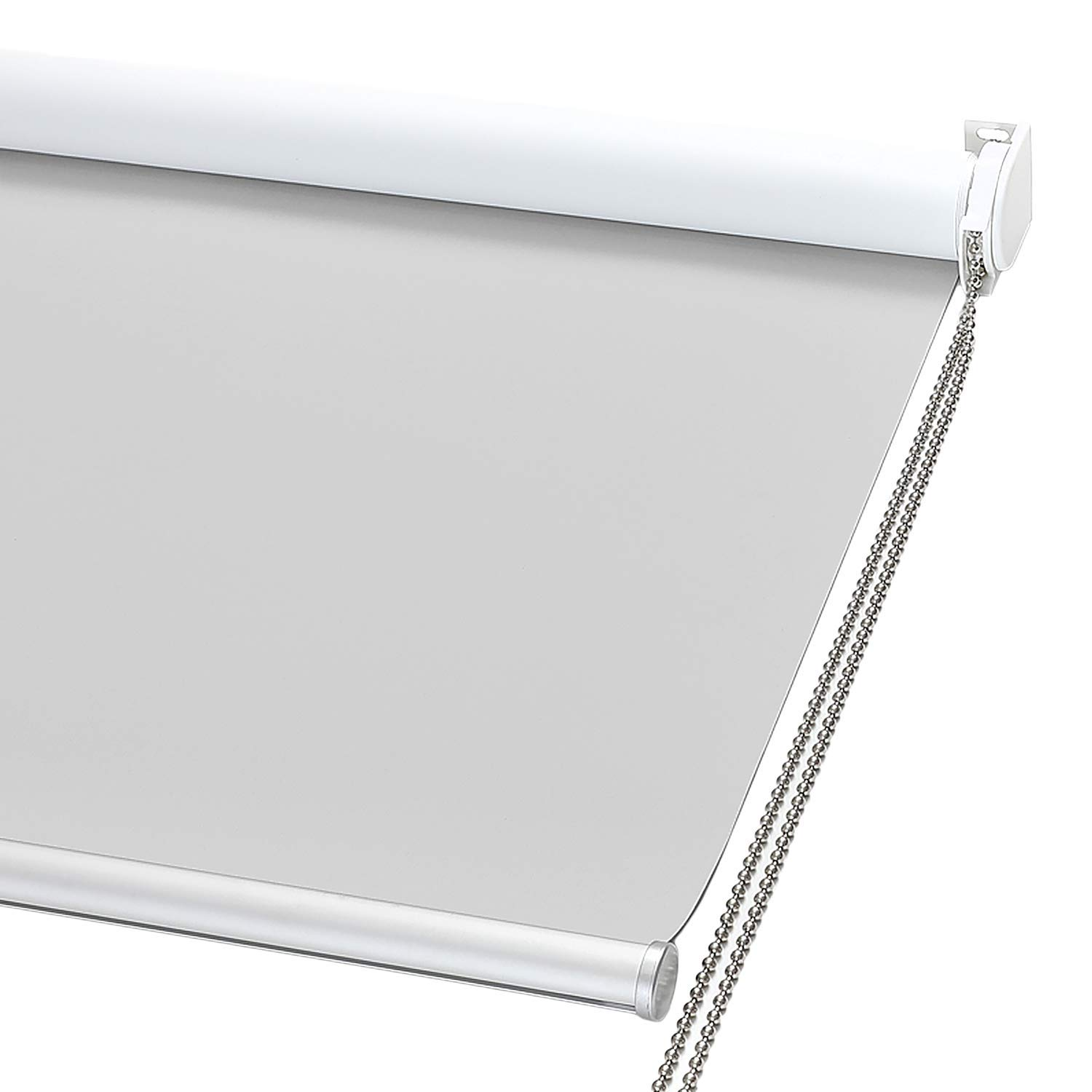 ChrisDowa 100% Blackout Roller Solar Shade with Thermal Insulated