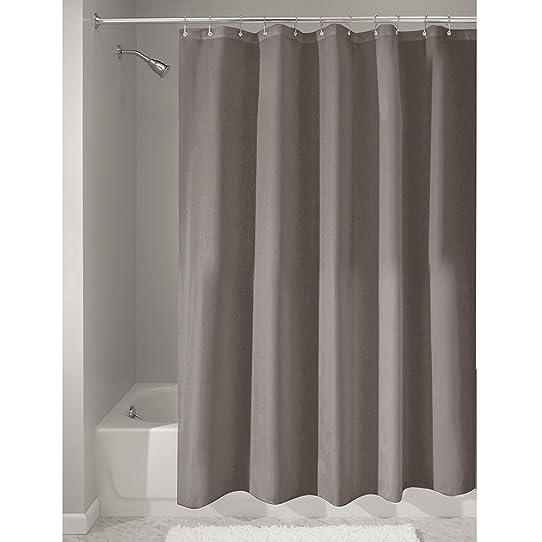 interdesign rideau de douche tissu impermable 1800 cm x 2000 cm - Rideau Salle De Bain Tissu