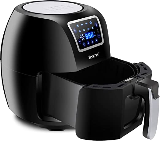 Amazon.com: Super Deal ZenChef PRO XXL - Freidora de aire ...