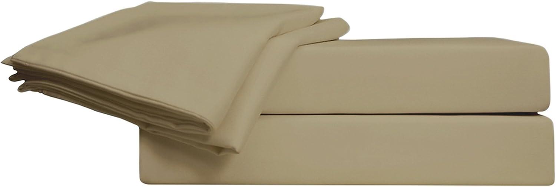 Just Linen - Juego de sábanas de satén de algodón egipcio, 800 ...