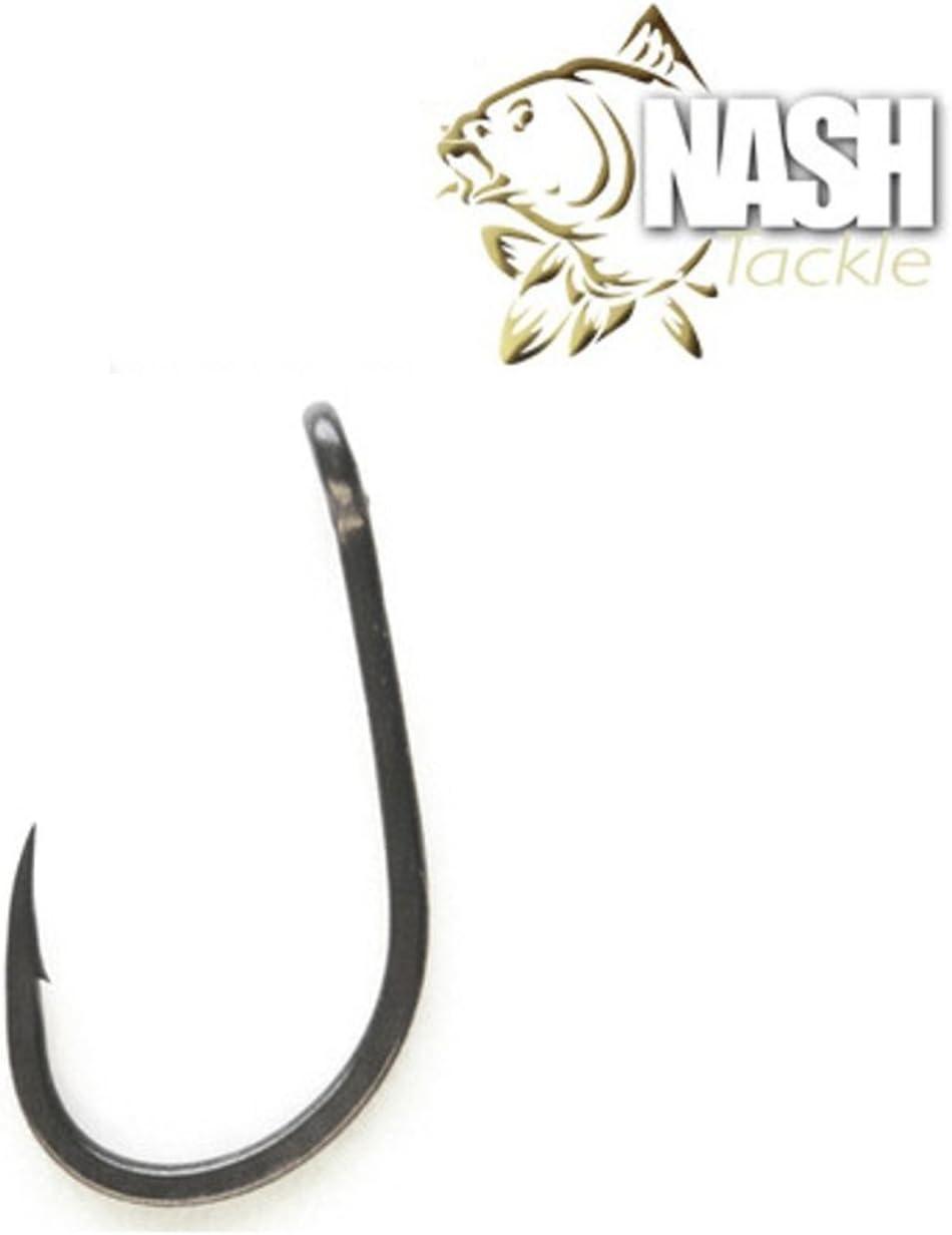 Nash Fang Gaper Karpfenhaken Haken 10 St/ück Gr 4