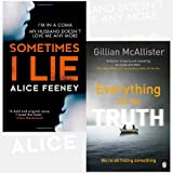 Sometimes I Lie and Everything but the Truth 2 Books Bundle Collection - A psychological thriller with a killer twist you'll never forget