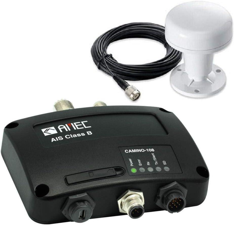 Amec Camino 108 Transpondedor AIS Marino con Antena GPS