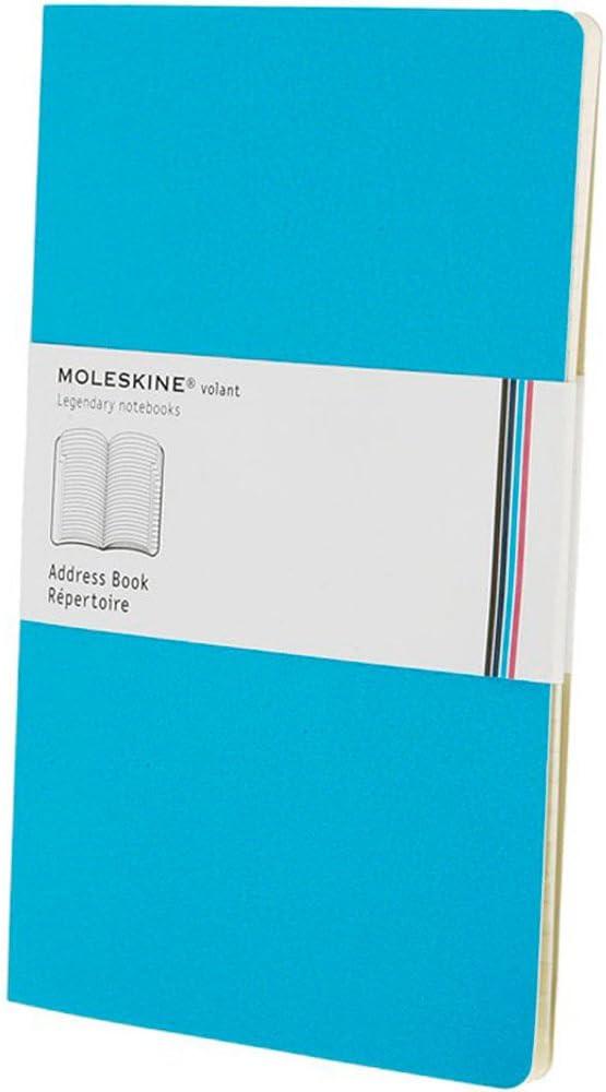 Moleskine - Carnet Volant Ligne, color azul, pack de 2 unidades ...