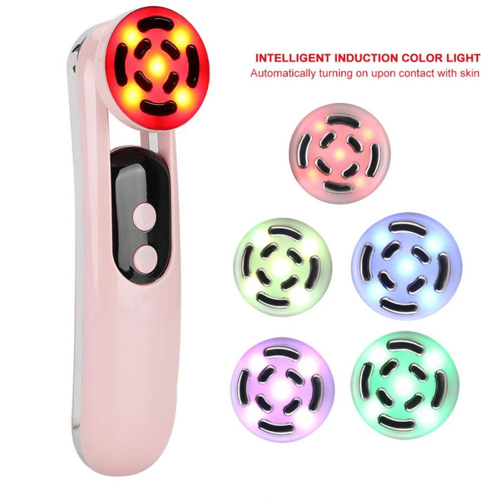 OD.zepp 5 Colors Light Ion Therapy Beauty Instrument,Micro Current Anti-Wrinkle Device Face Lifting Tightening Massage Machine by OD.zepp