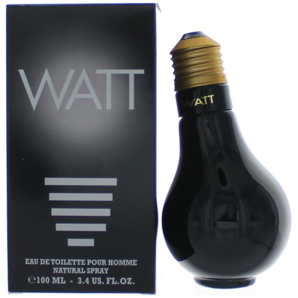 Cofinluxe Watt Black by Eau de Toilette Spray for Men, 3.4 Ounce