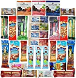 Healthy Nuts and Bars Variety Pack Gift Snack Box (Package 30 Count)