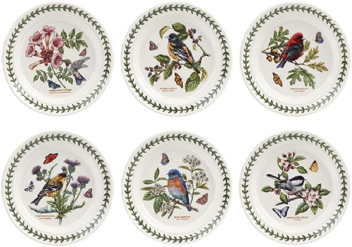Portmeirion - Botanic Garden Birds - Plate - 15 x 15cm