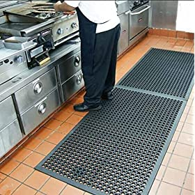Rubber Floor Mat Anti-Fatigue Mat for Kitchen Outdoor Mat Commerical Heavy Duty Mat for Resturant No