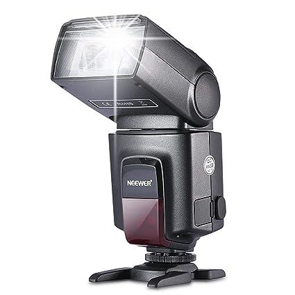 Neewer TT560 Kamera Blitz Speedlite für Canon Nikon Panasonic Olympus Pentax und andere DSLR-Kameras, Digitalkameras mit Stan