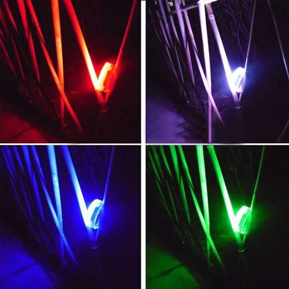 4 UNIDS RGB Luz Sumergible Bajo el Agua Luz de Piscina de Luz LED Funciona con Bater/ía Decoraci/ón de Fiesta de Jard/ín L/ámpara de Estanque