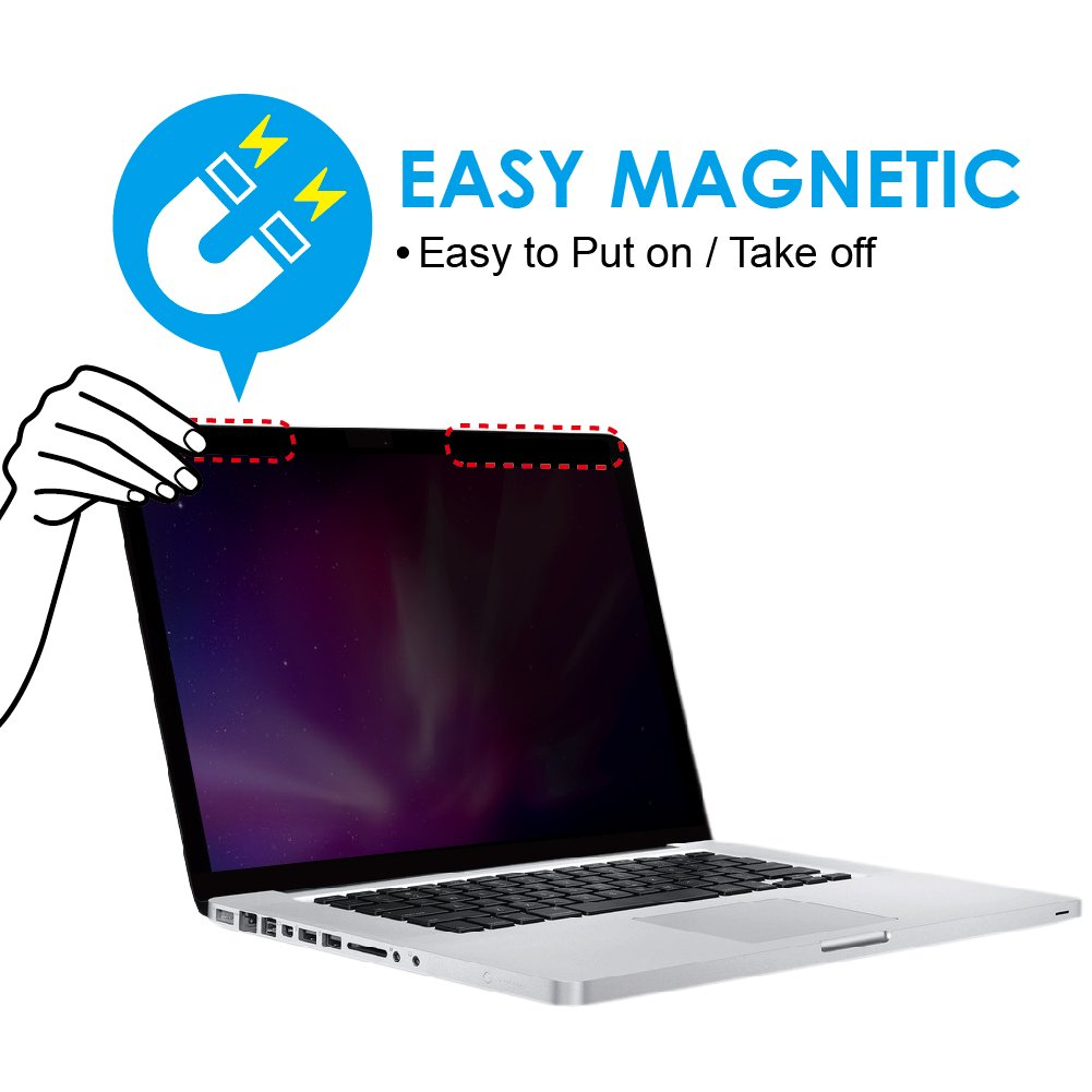 "KAEMPFER Ultra Slim Magnetic Privacy Filter for Apple MacBook Pro13/"" 2016-2018"