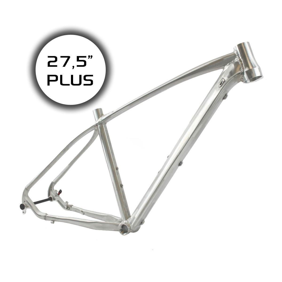 RIDEWILL BIKE MTB marco aluminio 27.5plus PP12mm 1–1/81.5 BSA tamaño 40(MTB)/MTB marco 27, 5Plus Thru Eje 12mm Alu 1–1/81, 5 BSA Szie 40(MTB) 5 BSA Szie 40(MTB)