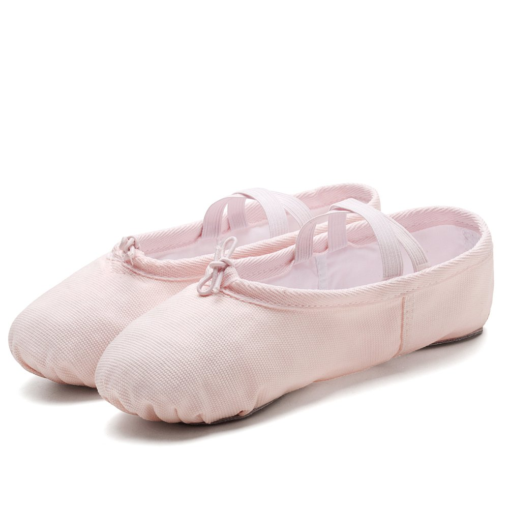 Ballerina Shoes Yoga Dance Shoes Flats konhill Girls Ballet Slipper Shoes Toddler//Little Kid//Big Kid//Women//Boy