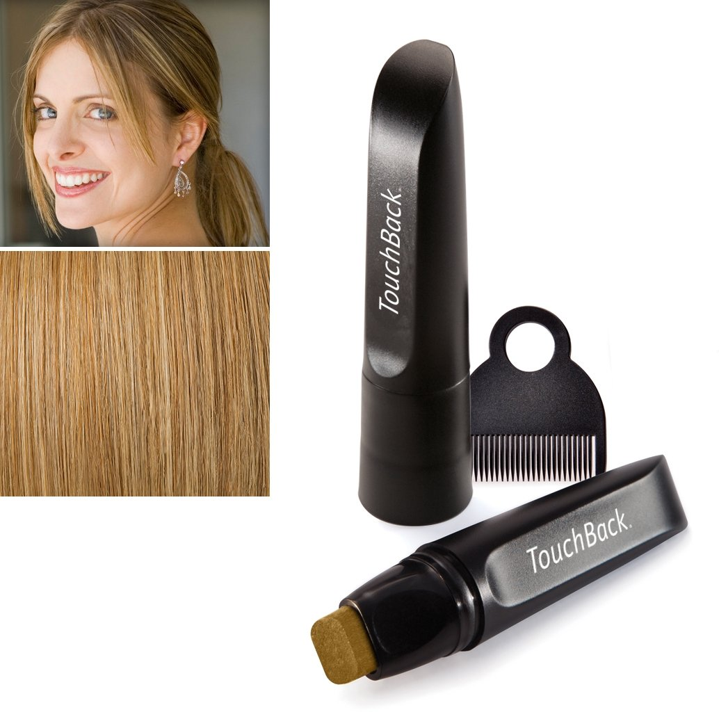 TouchBack PRO Gray Root Touch Up Golden Blonde by TouchBack