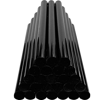GLISTON Paintless Dent Repair Glue Sticks Hot Glue Sticks Paintless Dent Repair Tool for Car Repair Dent Remover Tool Set - 10 PCS Black: Automotive