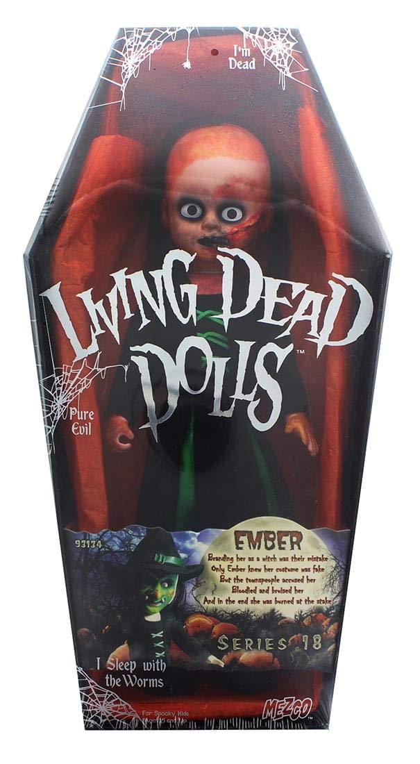 Figura Ember - Living Dead Dolls - Serie 18