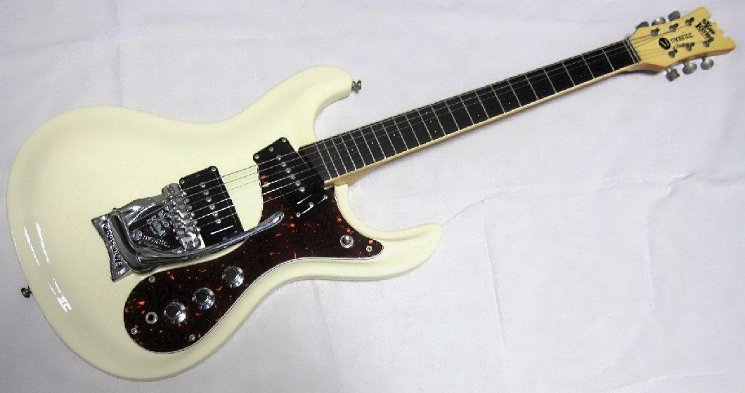 MOSRITE USA製 YUZO KAYAMA K.K MODEL1993年製 パールホワイト、ファズ搭載モデル B07CWMT6DN