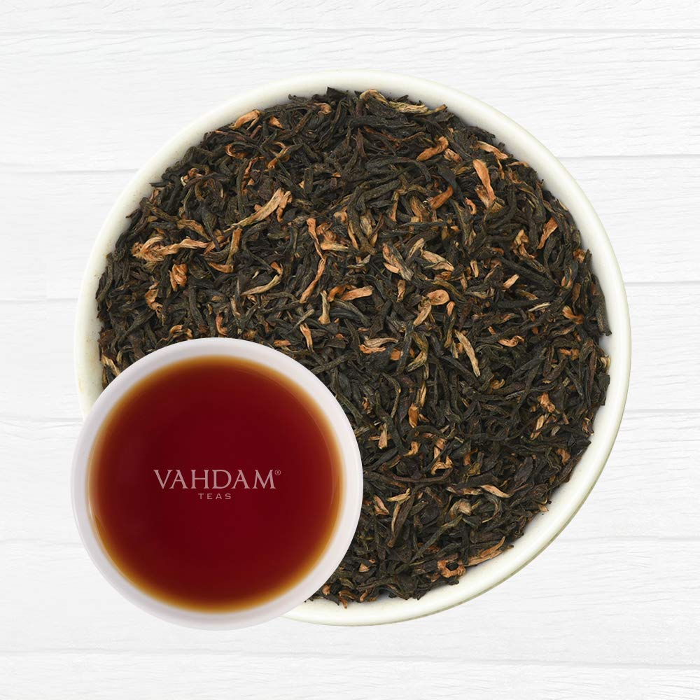VAHDAM, 2019 Harvest Assam Enigma Second Flush (50 Cups) | RICH, MALTY Assam Tea Loose Leaf | 100% PURE ASSAM BLACK TEA Loose Leaf