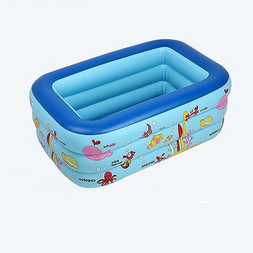 LYM & bañera Plegable Piscina Inflable Piscina para bebés Piscina ...